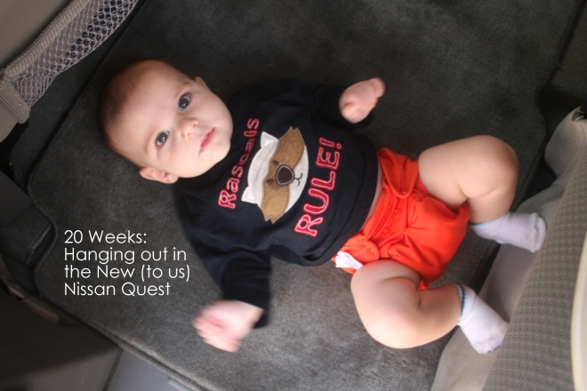 20 weeks hanging out in the new nissan quest