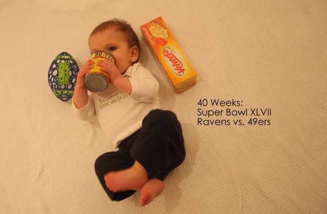 40 weeks superbowl xlvii